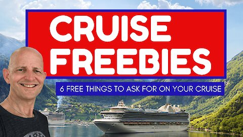 Six things you can get for free on a cruise ship if you ask
