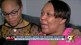 Mom says suspect stalked, killed her daughter - Video