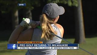 Symetra Tour PHC Classic Comes to Brown Deer - Video