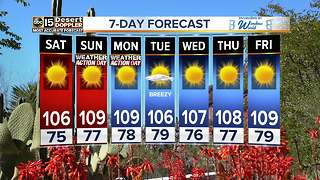 Weekend heat rising across the Valley - Video