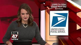 USPS to offer cheap next day weekend services - Video
