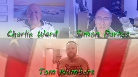 Charlie Ward, Simon Parkes and Tom Numbers