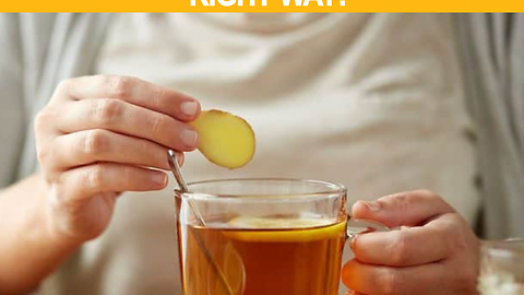 Why you should drink ginger tea every day