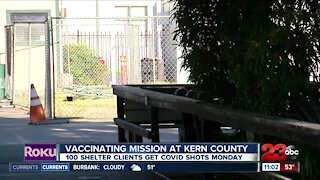 Mission at Kern County receives vaccines Monday
