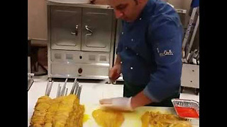 How to Make Restaurant Style Chicken Kebab - Video