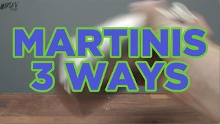 Martini 3 Ways - Video