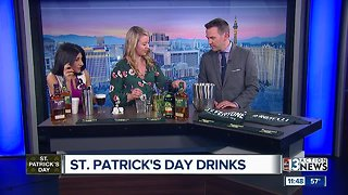 St. Patrick's Day Drinks - Video