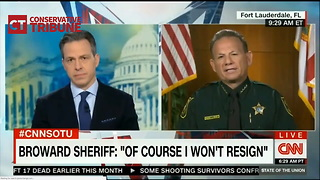 Disgusting: Broward County Sheriff Starts Cracking Jokes While Discussing Dead Kids