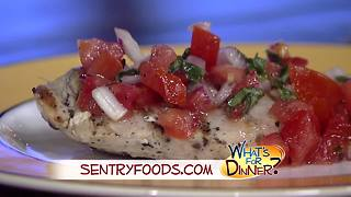 What's for Dinner? - Bruschetta Chicken - Video