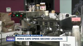 Perks Cafe expands, opening second location in growing medical corridor - Video