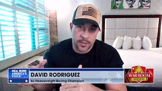 Boxer David Rodriguez: 'Senile' Biden is Manchurian Candidate for CCP and Globalists