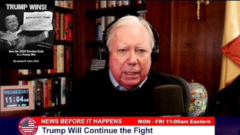 Dr Corsi NEWS 01-06-21: Trump Will Continue the Fight