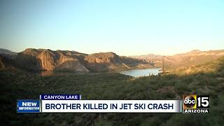 MCSO ID's man killed at Canyon Lake Sunday - Video
