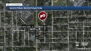 St. Petersburg police investigating shooting that left 2 injured