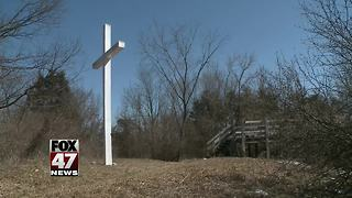 Controversy over cross on state property