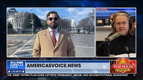 Raheem Kassam reports live from occupied zone