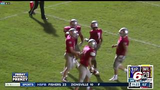HIGHLIGHTS: West Lafayette 51, Tipton 6 - Video
