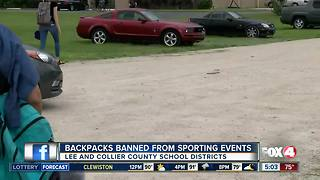 New bag ban at high school football games in Southwest Florida