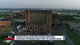 A Celebration of Revitalization: Ford holds community event outside Michigan Central Station