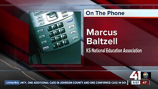 KNEA speaks about Kansas governor's order to close schools