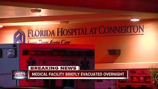 Medical Facility Briefly Evacuated Overnight - Video