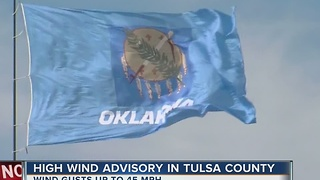 High wind advisory in many parts of Green Country - Video
