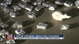 Opioid epidemic impacting children in Tampa Bay - Video