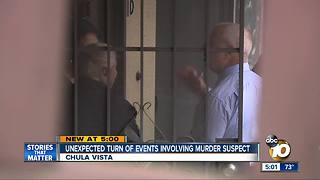 Unexpected turn of events involving National City murder suspect
