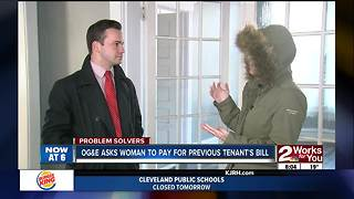 PROBLEM SOLVERS: Muskogee woman responsible for previous tenant's bill - Video