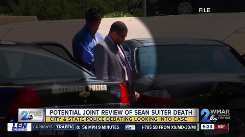 Maryland State Police may join Det. Suiter's death investigation