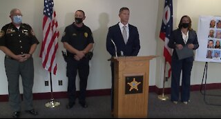 FBI and local authorities give update on drug trafficking investigation