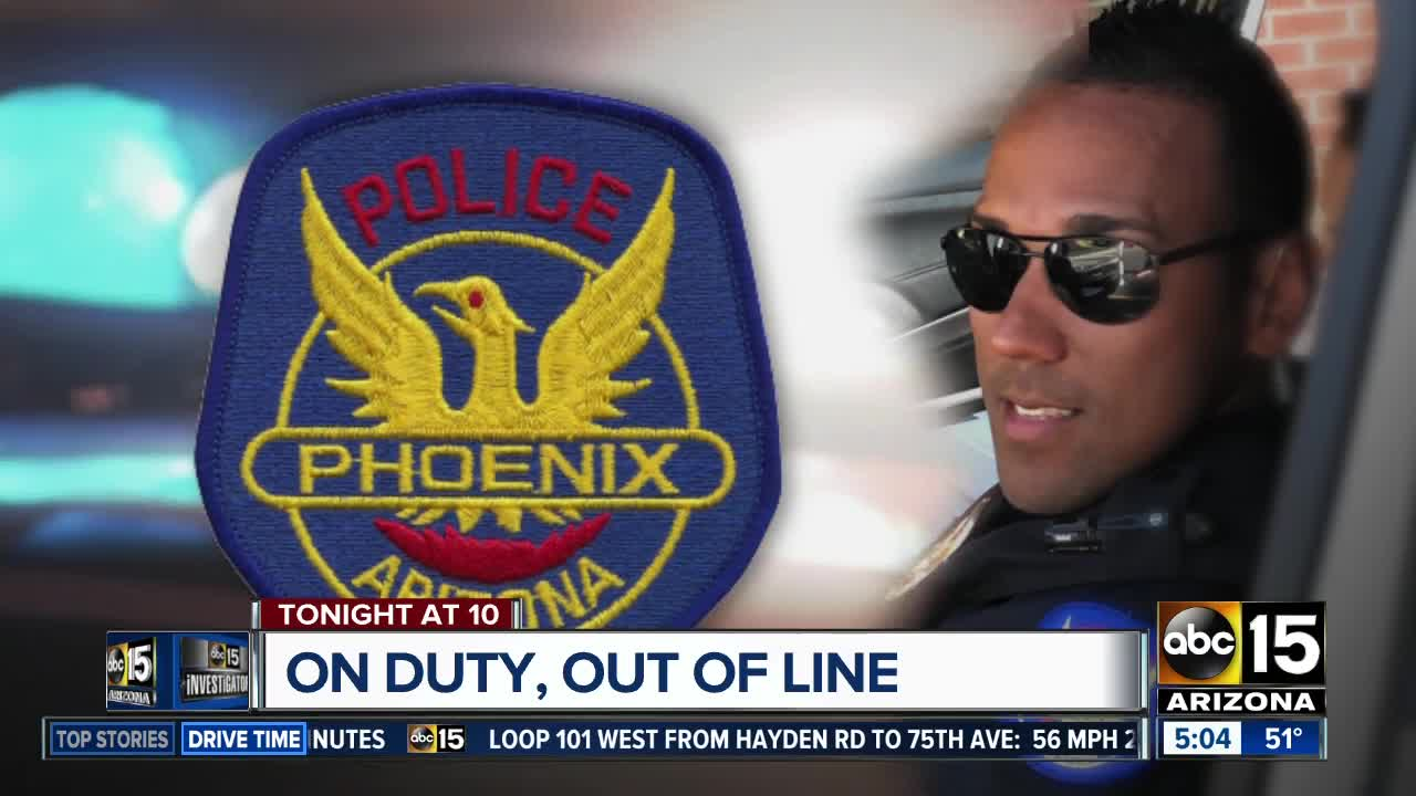 Former Phoenix PD officer discusses accusations of sexual misconduct