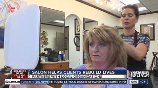 Salon helps clients rebuild lives