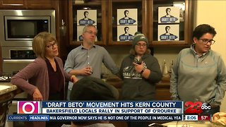 Bakersfield residents rally support for Beto O'Rourke