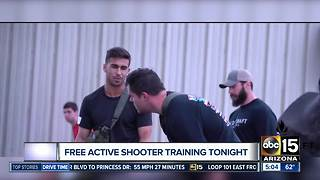 Free active shooter situation training in Gilbert