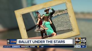 See Ballet Under the Stars around the Valley - Video