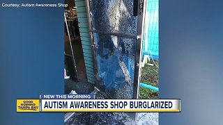 Autism Awareness Shop in Tampa needs help after New Year's Eve burglary