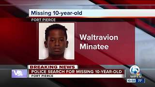 10-year-old boy missing in Fort Pierce - Video