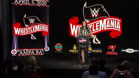 WWE's WrestleMania 36 coming to Tampa Bay in 2020 | Official Announcement