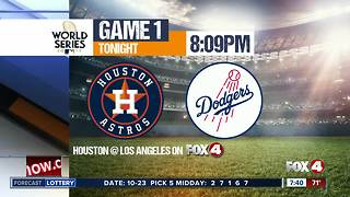 World Series starts tonight on Fox 4 - Video