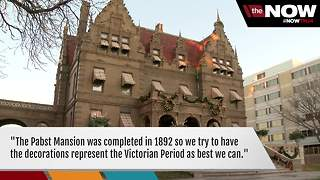 Halls have been decked at the Pabst Mansion - Video