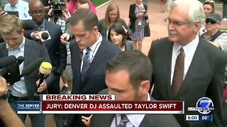 Jury: Denver DJ assaulted Taylor Swift - Video
