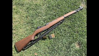 First M1 Garand Build With Lothar-Walther Barrel and Minelli stock