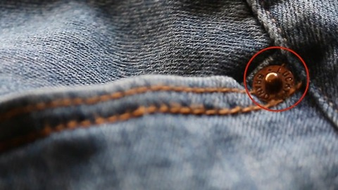 This Is Why Jeans Have Little Buttons Around Pockets Called Rivets