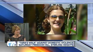 Tara's Walk for domestic violence - Video