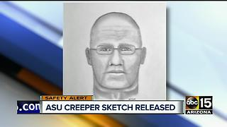 Police release sketch of ASU flasher - Video