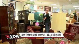 New life for retail space at Eastern Hills Mall - Video