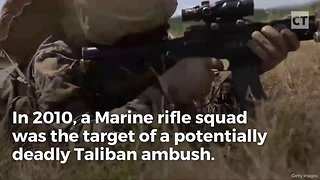 Marines Call Down Artillery, But Never Expected What the 1st One Would Do - Video
