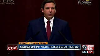 Governor DeSantis delivers first State of the State address