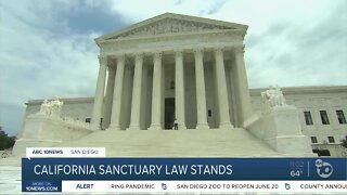 California sanctuary law stands